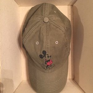 Disney hat with Mickey Mouse in front